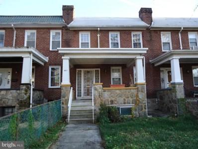 3817 Norfolk Avenue, Baltimore, MD 21216 - #: MDBA100928