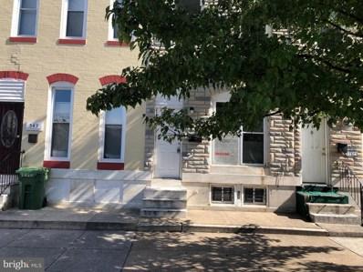 541 N Luzerne Avenue, Baltimore, MD 21205 - #: MDBA100998