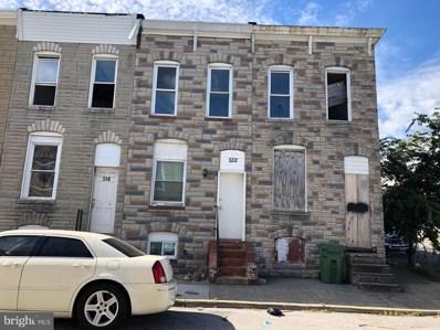 532 N Glover Street, Baltimore, MD 21205 - #: MDBA101124