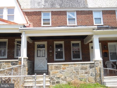 3804 Cranston Avenue, Baltimore, MD 21229 - #: MDBA101256
