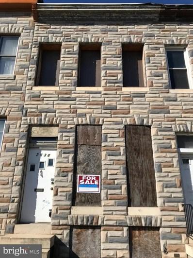 2536 Frederick Avenue, Baltimore, MD 21223 - MLS#: MDBA101274