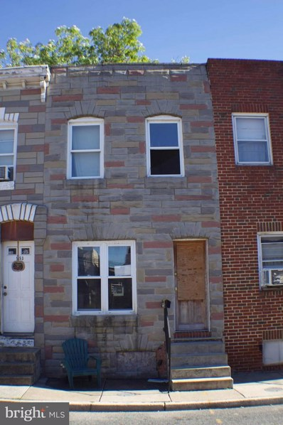 1155 Ward Street, Baltimore, MD 21230 - #: MDBA101386