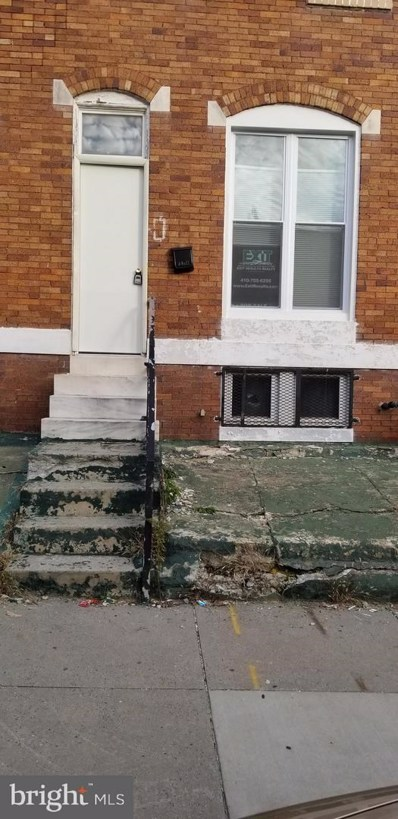 27 N Wheeler Avenue, Baltimore, MD 21223 - #: MDBA101510