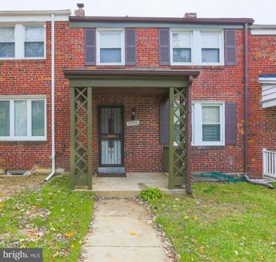 2405 N Ellamont Street, Baltimore, MD 21216 - #: MDBA101608