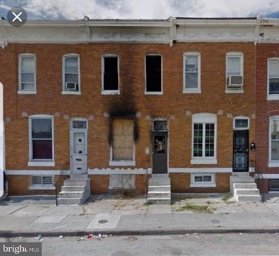 12 Catherine Street S, Baltimore, MD 21223 - #: MDBA101772