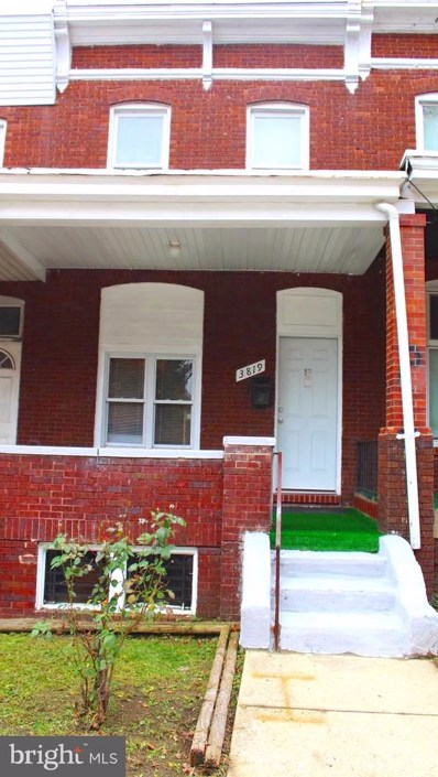 3819 Belair Road, Baltimore, MD 21213 - #: MDBA101808