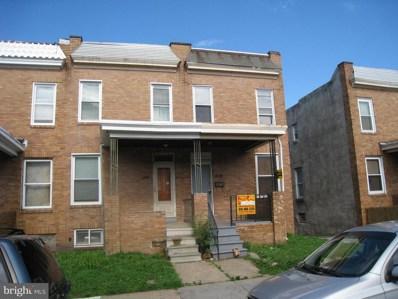 444 S Bentalou Street, Baltimore, MD 21223 - MLS#: MDBA101966