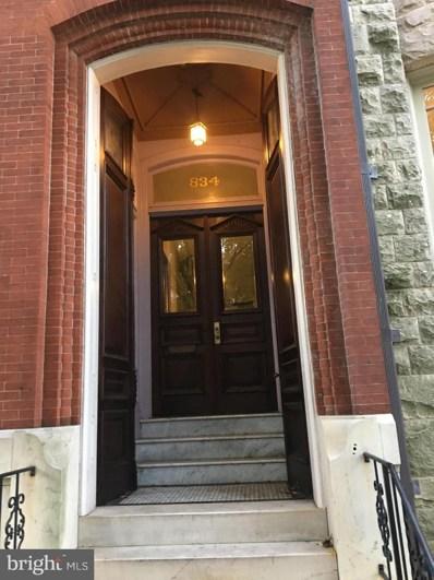834 Park Avenue UNIT 1, Baltimore, MD 21201 - MLS#: MDBA102024