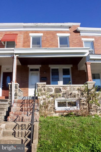809 Ponca Street, Baltimore, MD 21224 - MLS#: MDBA102068