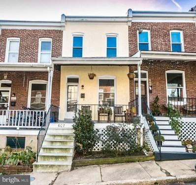607 Harding Place, Baltimore, MD 21211 - #: MDBA102260