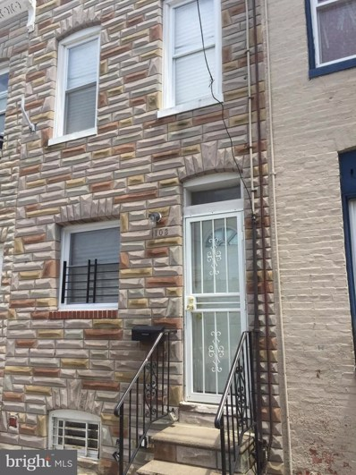 103 S Dean Street, Baltimore, MD 21224 - MLS#: MDBA102428