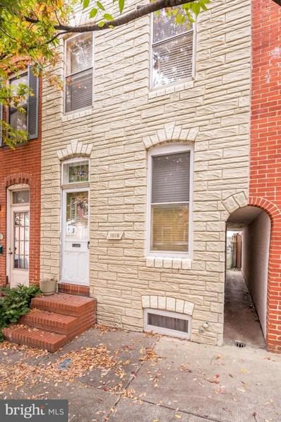1018 S Bouldin Street, Baltimore, MD 21224 - #: MDBA102538