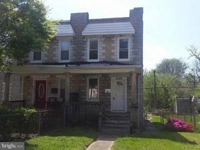 4129 Marx Avenue, Baltimore, MD 21206 - #: MDBA102562
