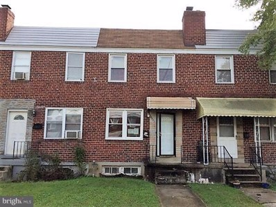 4935 Schaub Avenue, Baltimore, MD 21206 - MLS#: MDBA102690