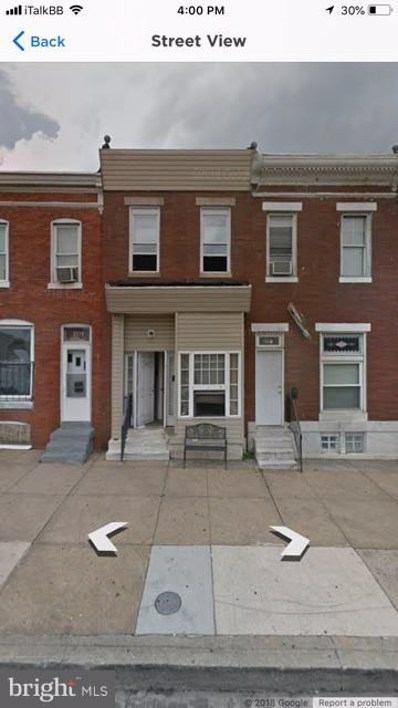 2556 Wilkens Avenue, Baltimore, MD 21223 - #: MDBA118738