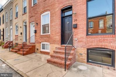 28 N Curley Street, Baltimore, MD 21224 - MLS#: MDBA125026