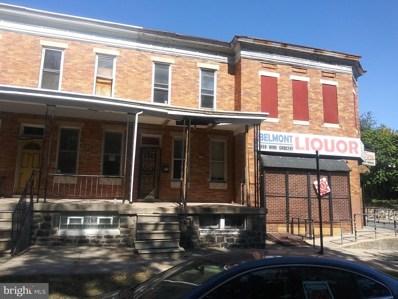 2910 Belmont Avenue, Baltimore, MD 21216 - #: MDBA132942