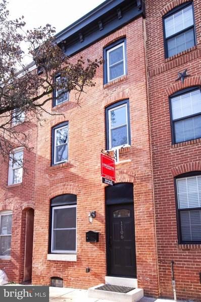 1106 Battery Avenue, Baltimore, MD 21230 - #: MDBA143698