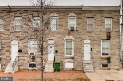 1832 Wilkens Avenue, Baltimore, MD 21223 - #: MDBA143704