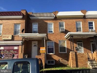 480 S Bentalou Street, Baltimore, MD 21223 - MLS#: MDBA172982