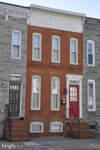1139 W Cross Street, Baltimore, MD 21230 - #: MDBA173644