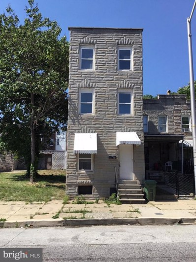 1834 W Lombard Street, Baltimore, MD 21223 - #: MDBA184178