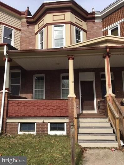 4122 Walrad Street, Baltimore, MD 21229 - #: MDBA192416