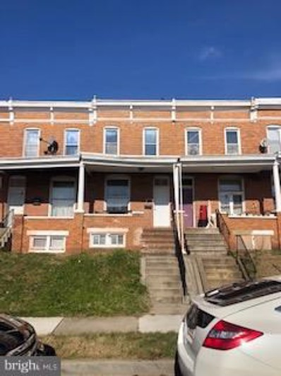 1606 E 29TH Street E, Baltimore, MD 21218 - #: MDBA197150