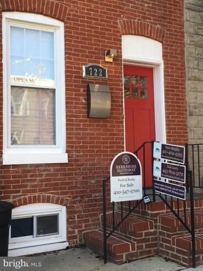 722 S Milton Avenue, Baltimore, MD 21224 - #: MDBA197982