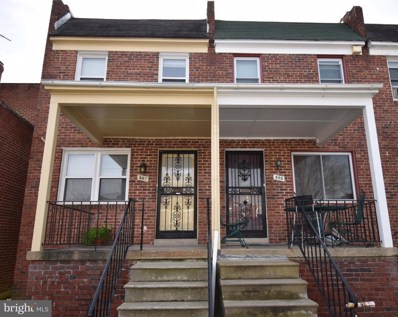 807 Dumbarton Avenue, Baltimore, MD 21218 - #: MDBA2000166