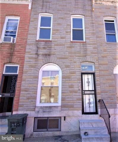 1913 E Federal Street, Baltimore, MD 21213 - #: MDBA2000167