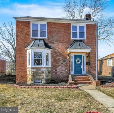 3904 Glen Avenue, Baltimore, MD 21215 - #: MDBA2000208