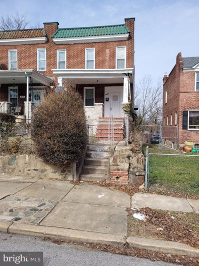 2526 Park Heights Terrace, Baltimore, MD 21215 - #: MDBA2000400