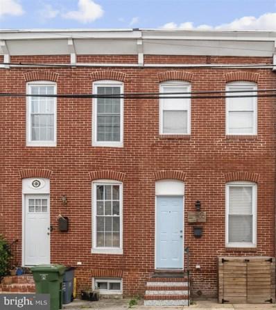 805 Mangold Street, Baltimore, MD 21230 - #: MDBA2000512