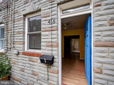 418 S Durham Street, Baltimore, MD 21231 - #: MDBA2000528