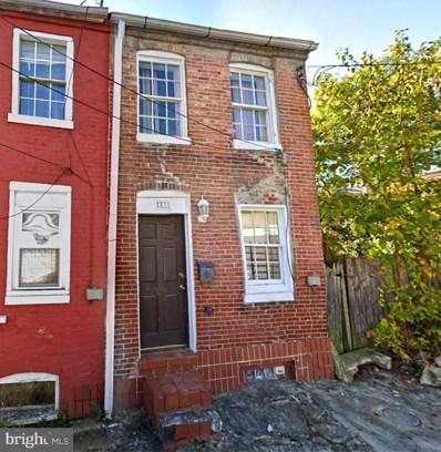831 Boyd Street, Baltimore, MD 21201 - #: MDBA2000543