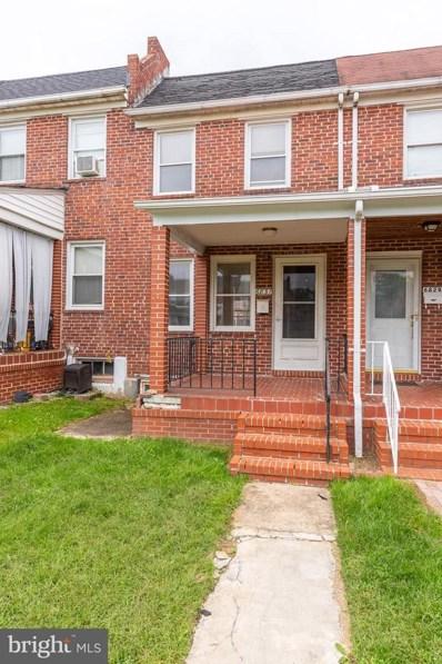 6831 Eastbrook Avenue, Baltimore, MD 21224 - #: MDBA2000545