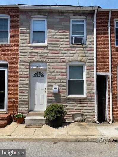 2018 Portugal Street, Baltimore, MD 21231 - #: MDBA2000600