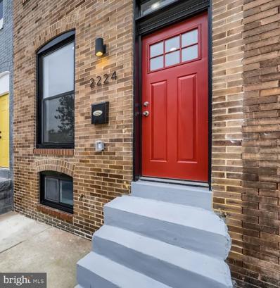 2224 Prentiss Place, Baltimore, MD 21205 - #: MDBA2000635