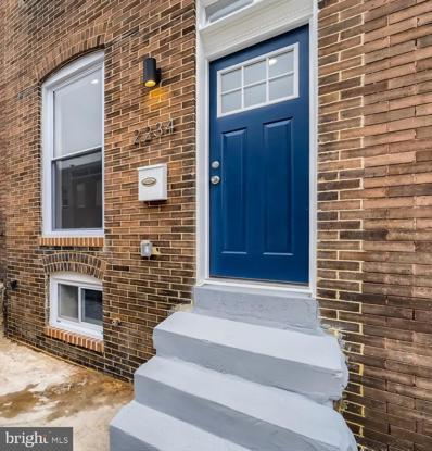 2234 Prentiss Place, Baltimore, MD 21205 - #: MDBA2000645