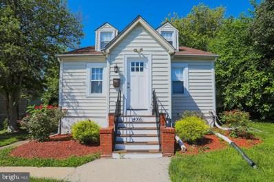 4005 Parkwood Avenue, Baltimore, MD 21206 - #: MDBA2000698