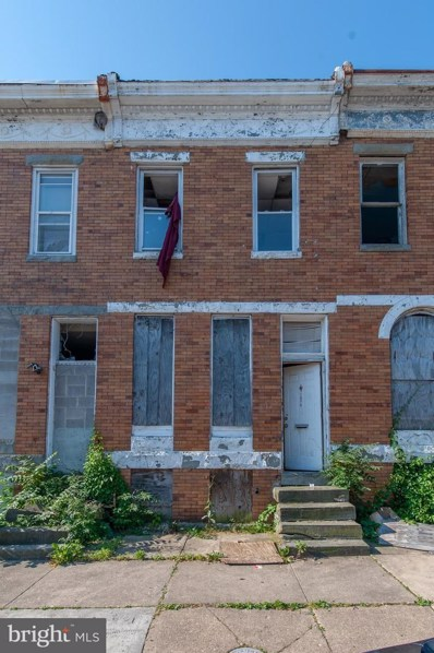 1919 Walbrook Avenue, Baltimore, MD 21217 - #: MDBA2000782