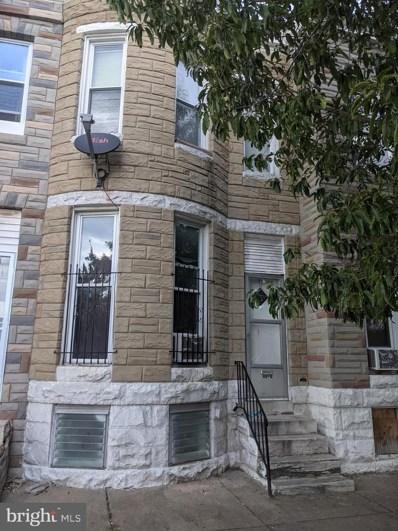 1610 Wilkens Avenue, Baltimore, MD 21223 - #: MDBA2000985