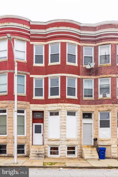 534 E 22ND Street, Baltimore, MD 21218 - #: MDBA2001213
