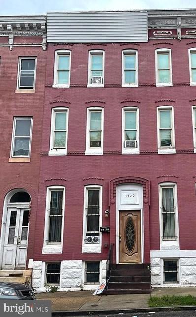1727 Druid Hill Avenue, Baltimore, MD 21217 - #: MDBA2001228