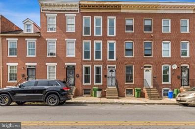 1034 W Lombard Street, Baltimore, MD 21223 - #: MDBA2001294