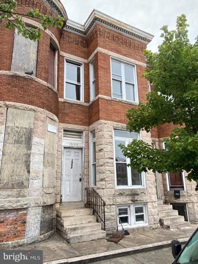 1904 N Fulton Avenue, Baltimore, MD 21217 - #: MDBA2001317