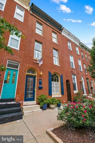 1419 S Hanover Street, Baltimore, MD 21230 - #: MDBA2001424