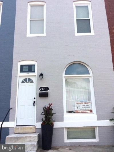 2413 E Federal Street, Baltimore, MD 21213 - #: MDBA2001640