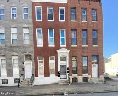 546 N Fulton Avenue, Baltimore, MD 21223 - #: MDBA2001966